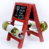 Rustic Ladder Style Wine Holder-0