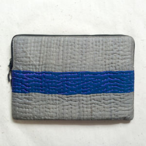 Laptop Sleeve - 15 Inches - Grey and Blue-1217