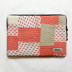 Laptop Sleeve - 15 Inches - Pitch and White-0