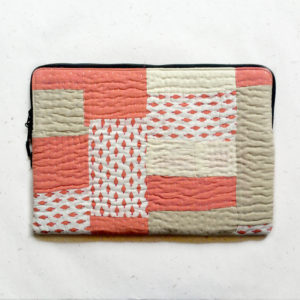 Laptop Sleeve - 15 Inches - Pitch and White-1205