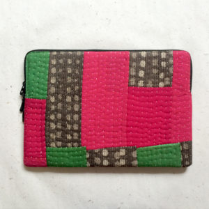 Laptop Sleeve - 15 Inches - Pink and Green-1213