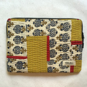 Laptop Sleeve - 13 Inches - Mustard and Red-0