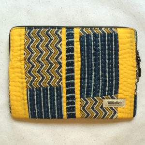 Laptop Sleeve - 13 Inches - Yellow and Blue-0