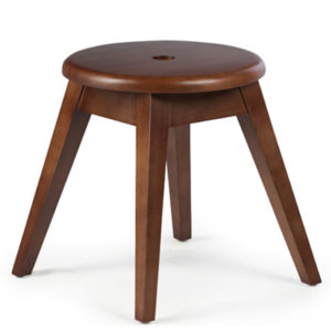 Addison Stool in Brown Colour -0