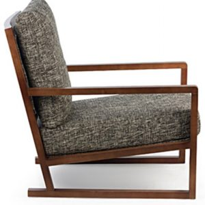 Benton Arm Chair in Charcoal Grey Colour -2592