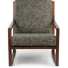 Benton Arm Chair in Charcoal Grey Colour -0