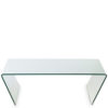 Constel Wide Coffee Table in Transparent Finish-0