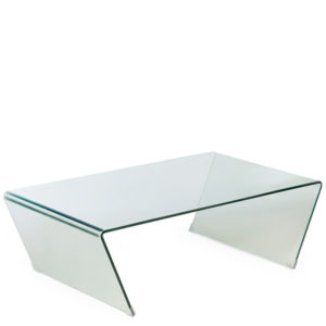 Constel Wide Coffee Table in Transparent Finish-2474