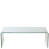 Lucida Waterfall Coffee Table in Transparent Finish-0