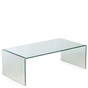 Lucida Waterfall Coffee Table in Transparent Finish-2463