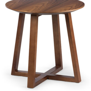 Millport Side Table in Brown Colour -0