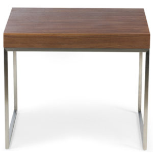 New York Side Table in Brown Colour -0