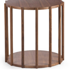 Paterson C Side Table in Brown Colour -0