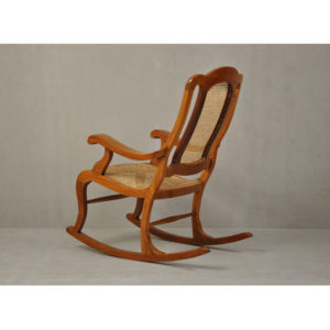Art Deco Rocking Chair-3254