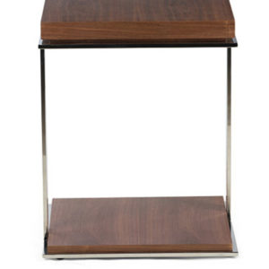 Somerville Side Table in Brown Colour -0