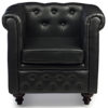 The Churchill Chair in Black Colour -0