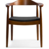 The Langdon Chair in Brown Colour -0