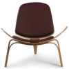 The Sweetzer Chair in Brown Colour -0