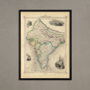 British India [1851] With Frame-0