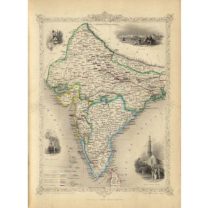 British India [1851] With Frame-3358