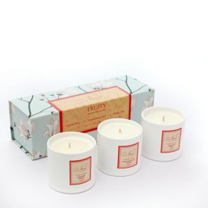 Fruity Collection - Set of 3 Candle-0