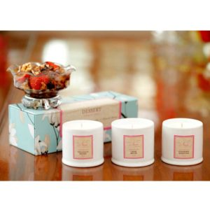 Dessert Collection - Set of 3 Candles-3625