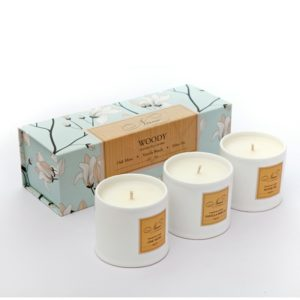 Woody Collection - Set of 3 Candles-0