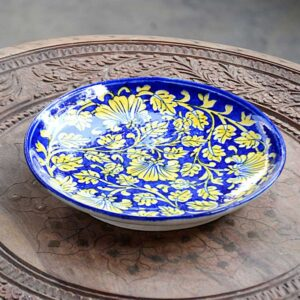 Platter - Blue And Yellow-0