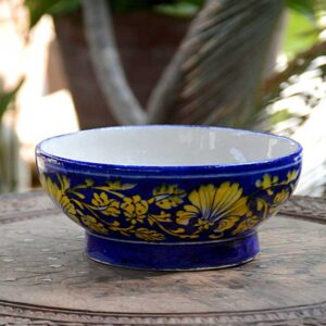 Bowl - Blue And Gold-0