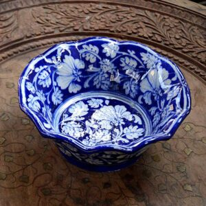 Bowl - Blue And White -4212