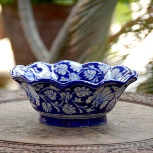 Bowl - Blue And White -0
