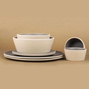 Basik Bowl Medium Grey-4653