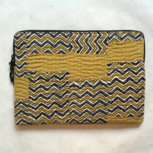 Laptop Sleeve - 13 Inches - Mustard and Blue-1200