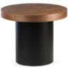 Aurora Side Table in Brown Colour -0